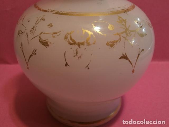 Antigüedades: Jarroncito opalina Cristal de la Granja - Foto 8 - 73851783