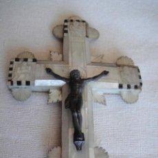 Antigüedades: ANTIGUA CRUZ DE JERUSALÉN DEL SIGLO 19. Lote 84463272