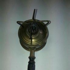 Antigüedades: ANTIGUO HORNILLO DE ALCOHOL CON MANGO. Lote 84490027