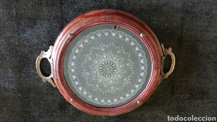 Antigüedades: Magnífica bandeja - Foto 2 - 84506670