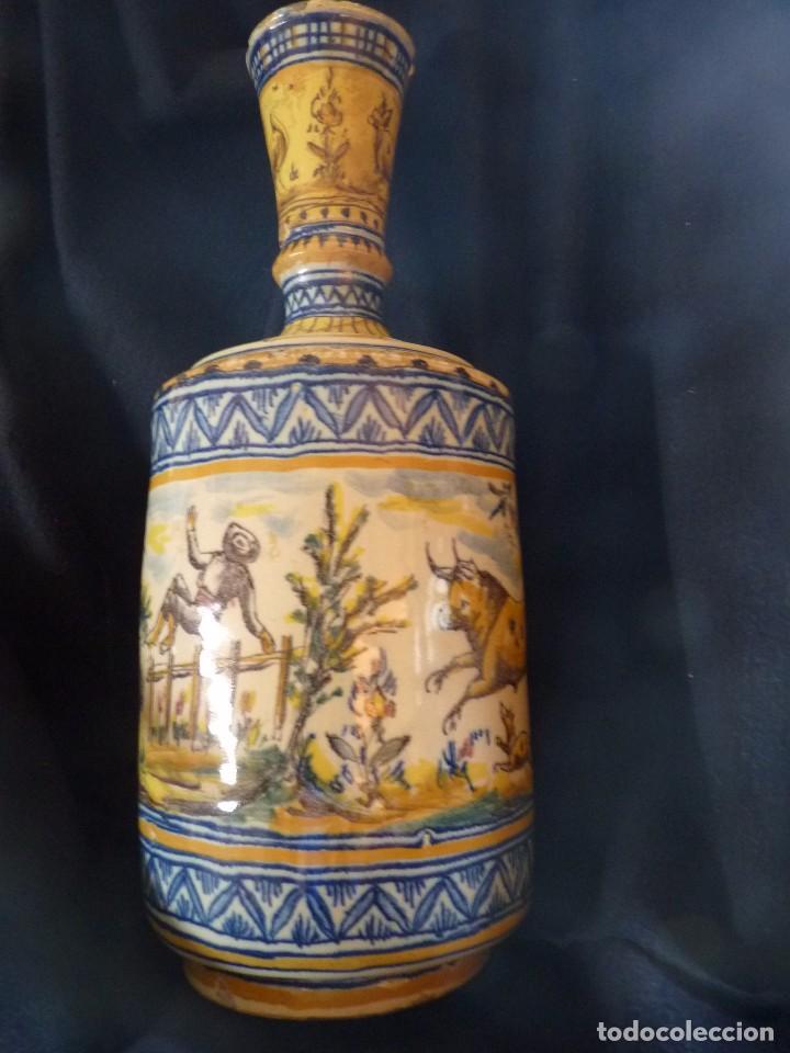 EXCEPCIONAL BOTIJA DE TRIANA SIGLO XIX (Antigüedades - Porcelanas y Cerámicas - Triana)