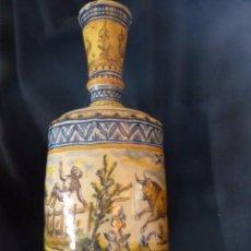 Antigüedades: EXCEPCIONAL BOTIJA DE TRIANA SIGLO XIX. Lote 84528780