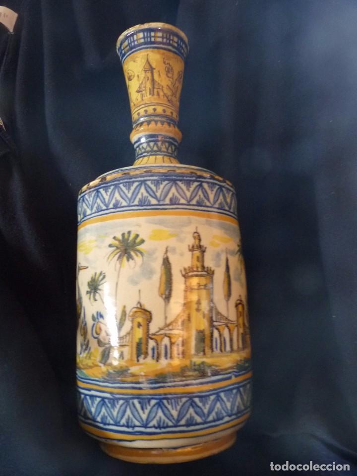 Antigüedades: EXCEPCIONAL BOTIJA DE TRIANA SIGLO XIX - Foto 7 - 84528780