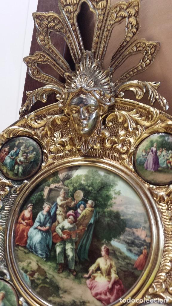 Antigüedades: precioso plato metalico - Foto 3 - 84533904