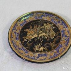 Antigüedades: PLATO GRIEGO CON ORO 24K.. Lote 84565320