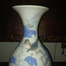 Antigüedades: BONITO JARRON FLORERO BUCARO DE LLADRO. Lote 84573892