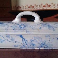 Antiques - Cajita porcelana decorada - 84599096