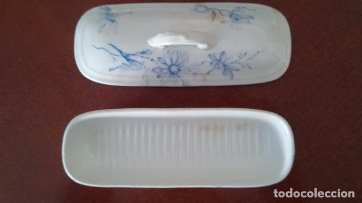 Antigüedades: Cajita porcelana decorada - Foto 4 - 84599096