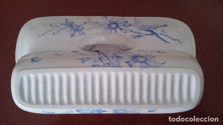 Antigüedades: Cajita porcelana decorada - Foto 5 - 84599096