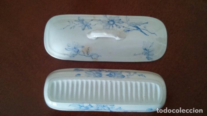 Antigüedades: Cajita porcelana decorada - Foto 6 - 84599096