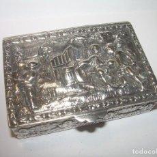 Antigüedades: ANTIGUA Y BONITA CAJITA DE PLATA DE LEY CON CONTRASTES.AÑOS 30 SIGLO PASADO.. Lote 84634004