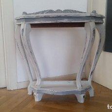 Antigüedades: CONSOLA AÑOS TREINTA RECUPERADA.. Lote 97492514