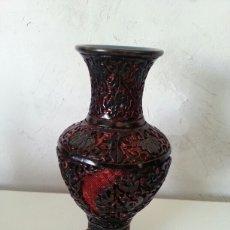 Antigüedades: JARRON CHINO DE CINABRIO. Lote 84661290