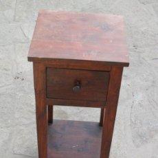 Antigüedades: PRECIOSA MESILLA DE SALÓN. MESA AUXILIAR CON CAJÓN.. Lote 86287038