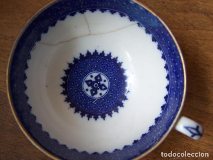 Antigüedades: Tazas(2) de café. Wedgwood England S. XVIII. A: 5´5 cm. - Foto 2 - 84706280