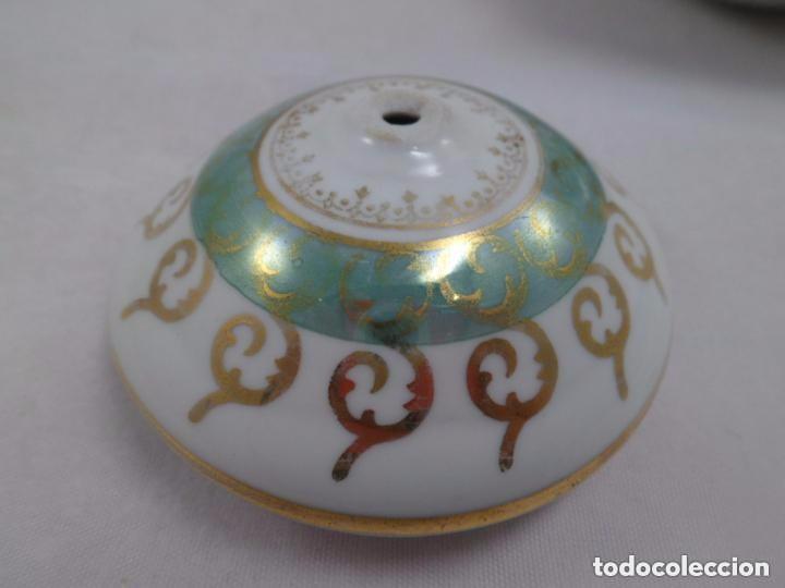 Antigüedades: CAFETERA SANTA CLARA CON DORADOS - Foto 6 - 84708676
