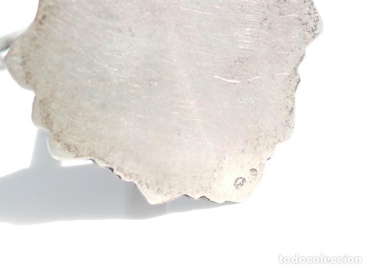 Antigüedades: CRUCIFIJO DE MUY BUENA MANUFACTURA EN PLATA DE LEY 14 CM DE ALTO 100 GRAMOS - Foto 10 - 84709964