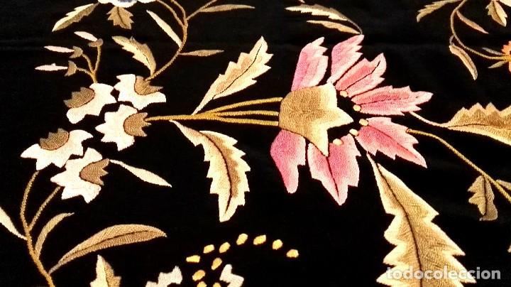 Antigüedades: Impresionante mantón estilo imperio - Foto 2 - 84741324