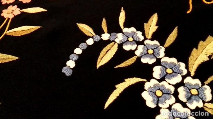 Antigüedades: Impresionante mantón estilo imperio - Foto 4 - 84741324