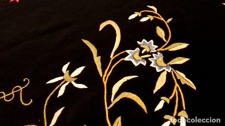 Antigüedades: Impresionante mantón estilo imperio - Foto 5 - 84741324