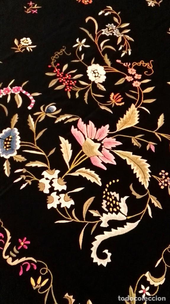Antigüedades: Impresionante mantón estilo imperio - Foto 6 - 84741324
