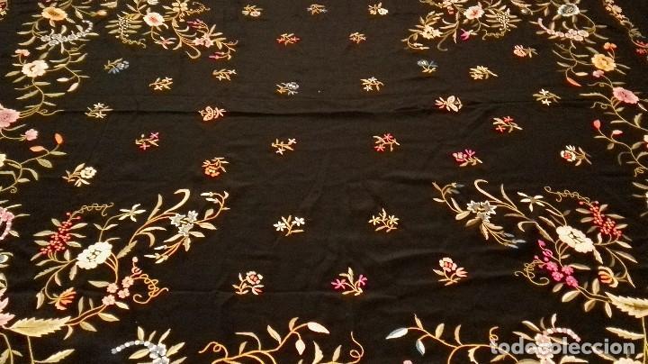 Antigüedades: Impresionante mantón estilo imperio - Foto 10 - 84741324