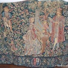 Antigüedades: ANTIGUO TAPIZ COPIA DEL SIGLO XVI. Lote 84756036