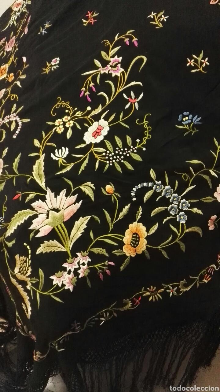 Antigüedades: Impresionante mantón estilo imperio - Foto 11 - 84741324