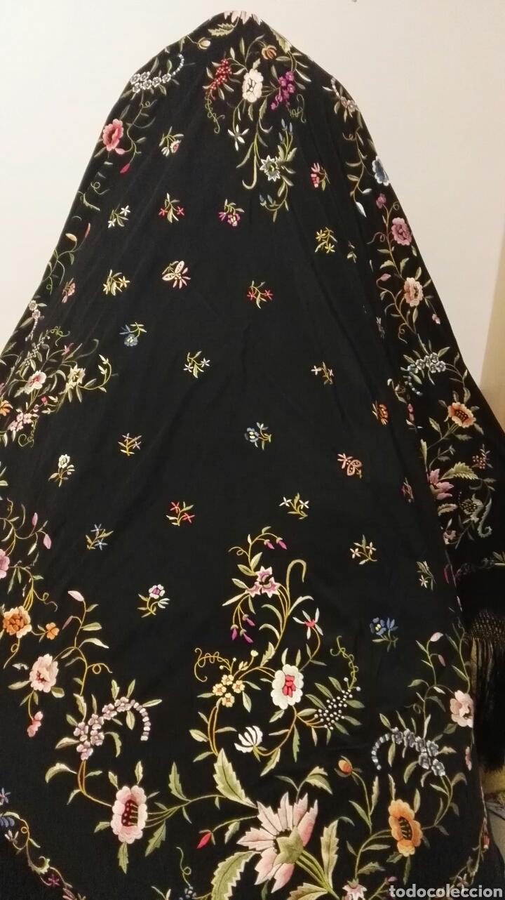 Antigüedades: Impresionante mantón estilo imperio - Foto 12 - 84741324
