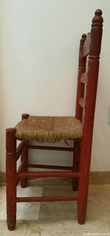 Antigüedades: Silla sevillana de principios del S. XX. - Foto 4 - 84766958