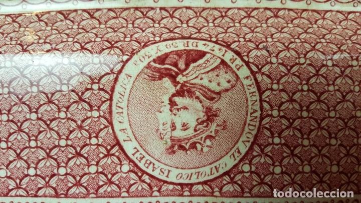 Antigüedades: PAREJA DE BANDEJAS. PORCELANA. W. ADAMS AND SONS. INGLATERRA. SIGLO XIX. - Foto 9 - 84789904