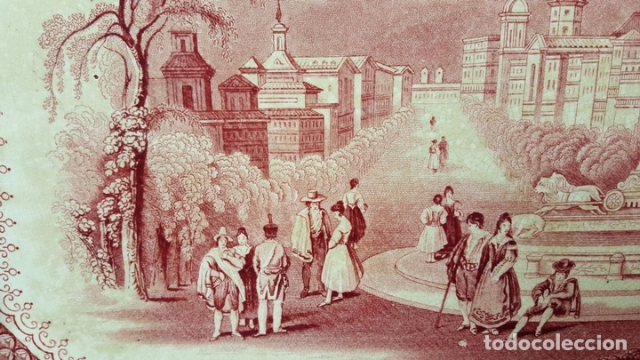 Antigüedades: PAREJA DE BANDEJAS. PORCELANA. W. ADAMS AND SONS. INGLATERRA. SIGLO XIX. - Foto 15 - 84789904