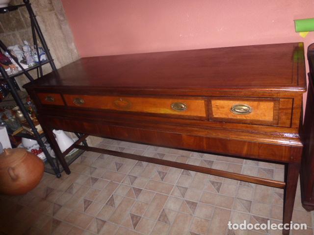 Mueble aparador bajo mueble o mueble de buffet comprar aparadores antiguos en todocoleccion - Aparador bajo ...