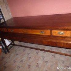 Antigüedades: MUEBLE APARADOR, BAJO MUEBLE O MUEBLE DE BUFFET ANTIGUO. . Lote 84810452