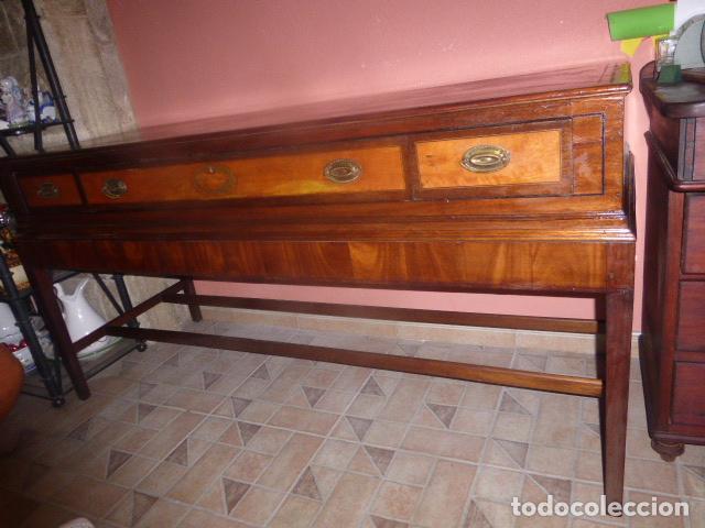 Antigüedades: MUEBLE APARADOR, BAJO MUEBLE O MUEBLE DE BUFFET ANTIGUO. - Foto 11 - 84810452