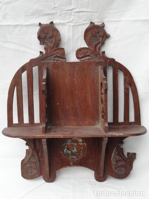 Bonita estanter a auxiliar estilo modernista de comprar for Muebles auxiliares clasicos madera