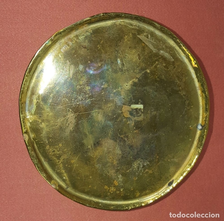 Antigüedades: JARDINERA. BRONCE DORADO. REPUJADO. ESPAÑA. SIGLO XIX-XX. - Foto 4 - 84920012