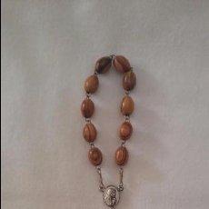 Antigüedades: ROSARIO DE OLIVO. Lote 84922992