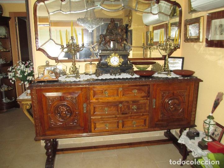 Salon comedor antiguo estilo renacentista talla comprar aparadores antiguos en todocoleccion - Muebles estilo antiguo ...