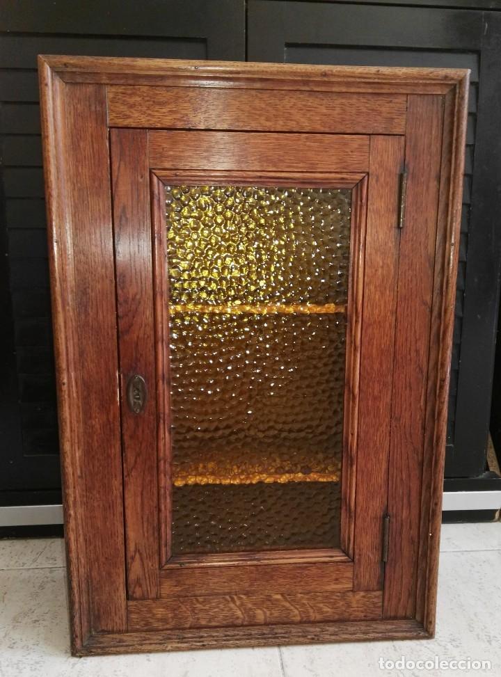 armario inglés de roble - Comprar Vitrinas Antiguas en todocoleccion ...