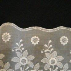 Antiquitäten - Bordado suizo color blanco. Pieza entera - 84960550