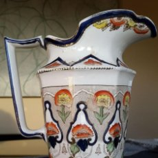 Antigüedades: GRAN JARRA INGLESA, BRISTOL, VICTORIANA MUY RARA. Lote 84971884