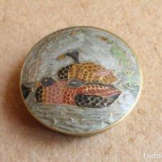 Antigüedades: CAJA METÁLICA HECHA EN INDIA.. Lote 84995880