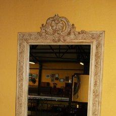 Antigüedades: ESPEJO CON MARCO 1900 REF.6014. Lote 85022684
