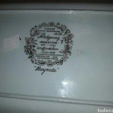 Antigüedades: PLATO DE PORCELANA DE RIDGWAY. Lote 85030402
