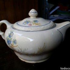 Antigüedades: PRECIOSA CAFETERA TETERA MARIANO POLA GIJON. Lote 85059886