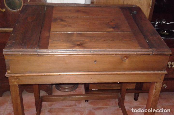 Antigüedades: pupitre / siglo XIX - Foto 3 - 30174839