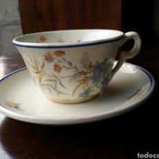 Antigüedades: TAZA DE CAFÉ O TE MARIANO POLA GIJON. Lote 85112490