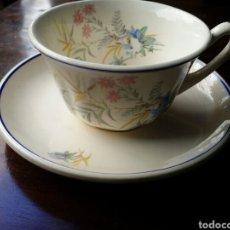 Antigüedades: TAZA DE CAFÉ O TE MARIANO POLA GIJON. Lote 85112868