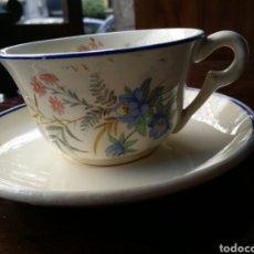 Antigüedades: TAZA DE CAFÉ O TE MARIANO POLA GIJON. Lote 85114832